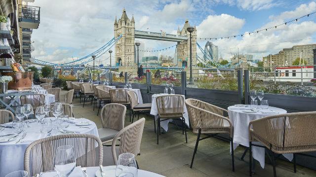 Restoran Dengan Pemandangan di London