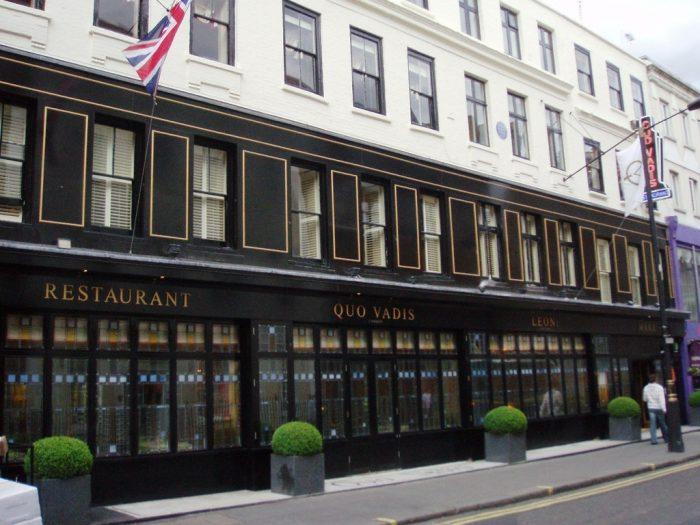 Restoran Tertua di London Bagian 2